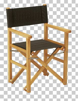 Table Director's Chair Furniture Folding Chair PNG