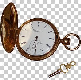Pocket Watch Clock Gold PNG