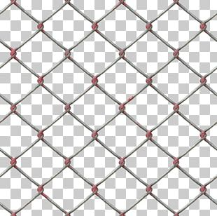 Chain-link Fencing Fence Wire Metal PNG