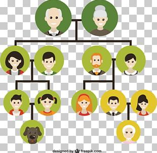 Family Tree Genealogy Icon PNG