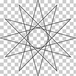 Star Polygon Regular Polygon Geometry PNG