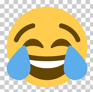 Face With Tears Of Joy Emoji Social Media Sticker Text Messaging PNG