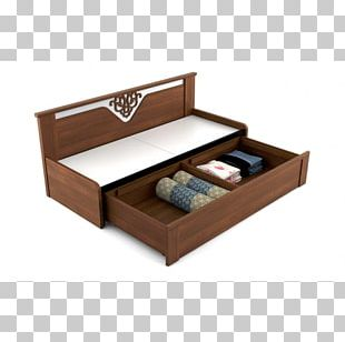 Bed Frame Furniture Couch Drawer PNG