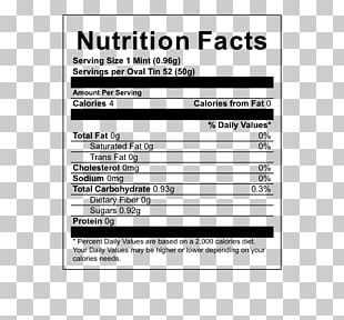 Barley Tea Oolong Nutrition Facts Label PNG