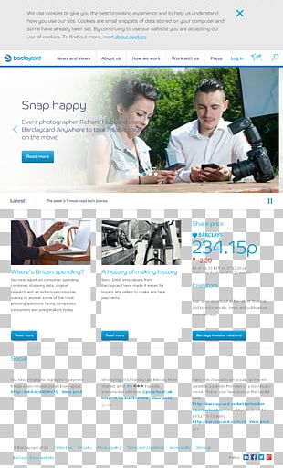 Web Design Consumer Web Page PNG