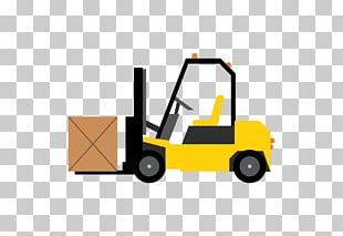Motor Vehicle Forklift Heavy Machinery Construction Graphics PNG