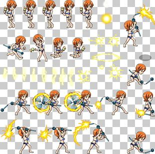 One Piece Treasure Cruise Nami Sprite Character PNG
