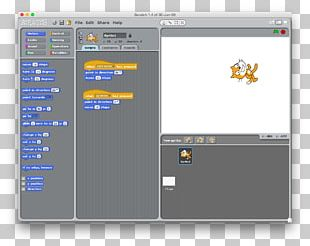 Scratch Computer Programming Computer Software User Interface PNG