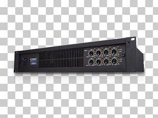 QSC Audio Products Audio Power Amplifier QSC CX168 PNG