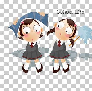 Student School Cartoon PNG