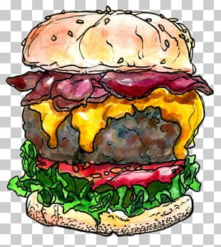 Cheeseburger Hamburger Bacon Fast Food Veggie Burger PNG