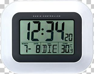 Digital Clock La Crosse Technology Alarm Clocks Atomic Clock PNG