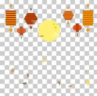 Mooncake Mid-Autumn Festival Lantern PNG