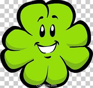 Shamrock Four-leaf Clover Cartoon PNG