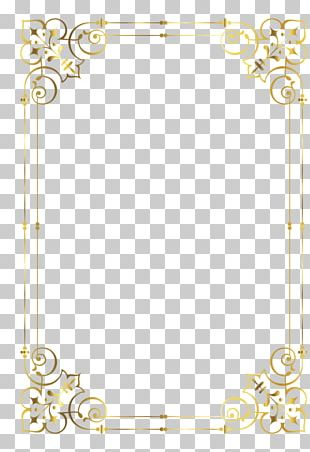 Frames Gold Baroque Ornament Decorative Arts PNG