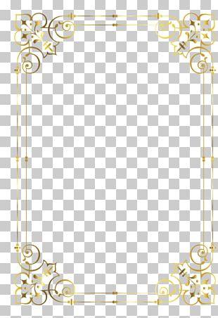 Frames Gold Baroque Ornament Decorative Arts PNG