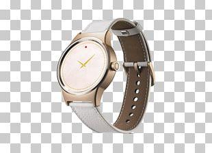 TCL MOVETIME Smartwatch Black With Lederbracelet Black Alcatel Mobile Telephone Alcatel OneTouch Go SM03 Smart Watch PNG