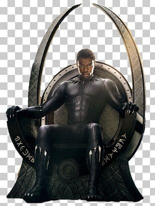 Black Panther Superhero Movie Film Marvel Cinematic Universe PNG