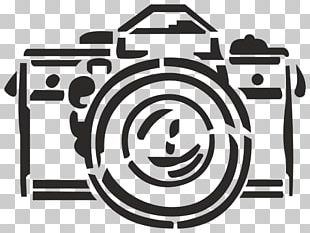 Stencil Photography Camera PNG