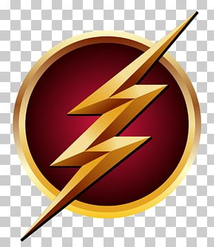 The Flash Logo Superhero Decal PNG