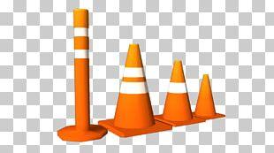 Traffic Cone Cylinder Orange PNG