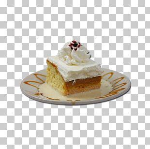 Chantilly Cream Tres Leches Cake Torte Milk Crème Caramel PNG