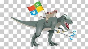 Tyrannosaurus Dinosaur T-shirt Windows 10 Microsoft Graph PNG