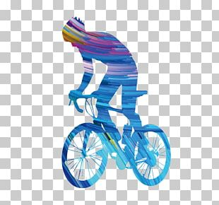Bicycle Cycling Sport Sticker Decal PNG
