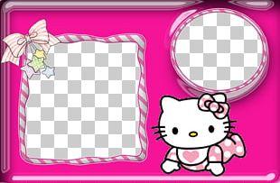 Hello Kitty Birthday Convite Photography PNG