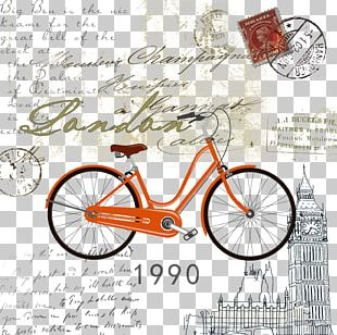 Painting Stock Photography Bicycle Vintage Clothing PNG