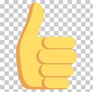 Thumb Signal Emoji Smiley Emoticon PNG