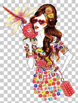 Fashion Illustration Book Illustration Graphic Design Illustration PNG