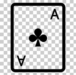 Ace Of Spades As De Trèfle Playing Card PNG