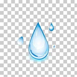 Drop Distilled Water Light PNG