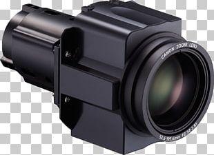 Multimedia Projectors Canon Focal Length Camera Lens PNG