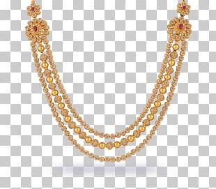 Necklace Jewellery Chain Gold PNG