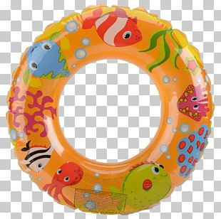 Swim Ring Inflatable Armbands Swimming Pool Circle PNG