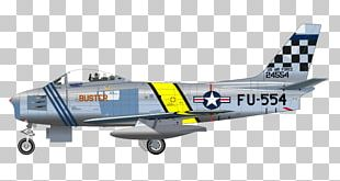 Airplane Fighter Aircraft North American F-86 Sabre PNG