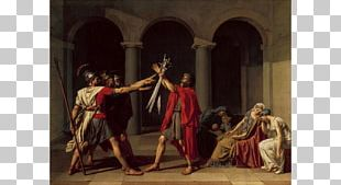 Oath Of The Horatii Painting Art History Neoclassicism PNG