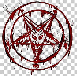 Sigil Of Baphomet Pentagram Satanism PNG
