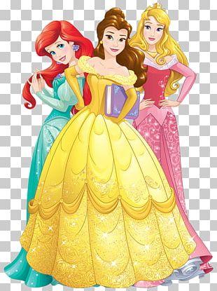 Princess Aurora Ariel Belle Minnie Mouse Cinderella PNG