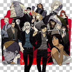 Gangsta Anime News Network Manga Television PNG