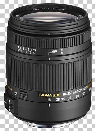 Canon EF Lens Mount Sigma 18-250mm F/3.5-6.3 Sigma 30mm F/1.4 EX DC HSM Lens Sigma Corporation Camera Lens PNG
