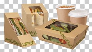 Paper Take-out Food Packaging Packaging And Labeling Box PNG