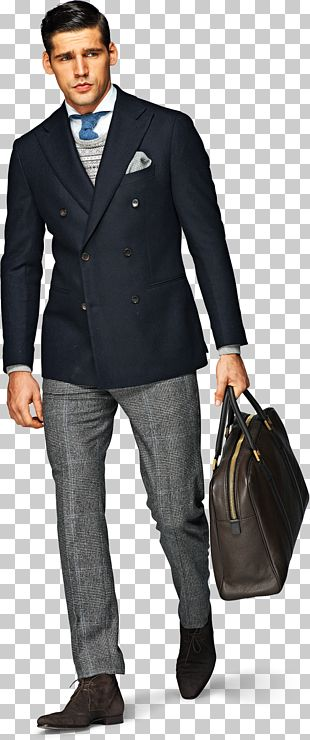 Suitsupply Fashion Double-breasted Jacket PNG