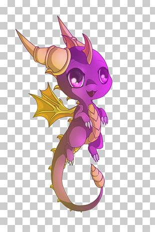 Spyro The Dragon The Legend Of Spyro: A New Beginning Chibi Drawing PNG
