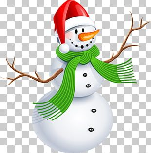 Christmas Snowman Winter PNG