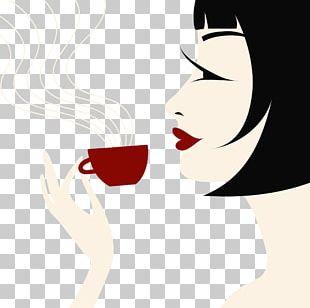 Iced Coffee Tea Cafe PNG