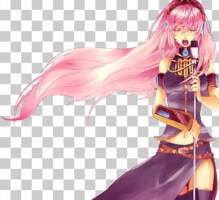 Microphone Anime Singer Drawing PNG