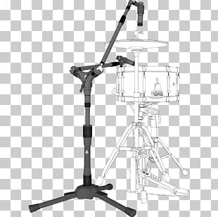 Tom-Toms Drums Microphone Stands Musical Instruments PNG